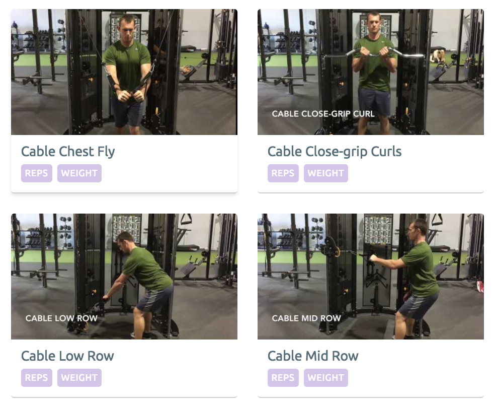 StrengthPortal Exercise Library